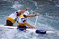 Slalom canoeing 2012 Olympics C2 GBR David Florence and Richard Hounslow.jpg