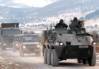 Slovenian Armed Forces - Slovene KFOR unit