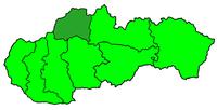 Poloha žilinské diecéze v rámci Slovenska