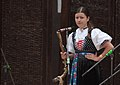 Slovak member of folk group at the Folk Festival in Myjava.jpg