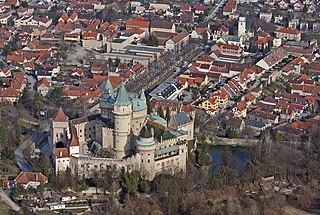 Bojnice Town in Slovakia