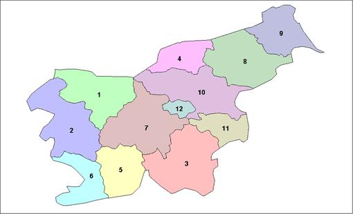Regioni statistiche della Slovenia