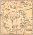 Smålenenes amt nr 44-b- Declineations Carte af Fridrichstad Fæstning, 1750.jpg