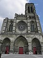 Soissons (02) Cathédrale Façade occidentale 2.JPG