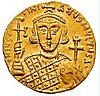 Solidus-Justinian II-reverse.JPG