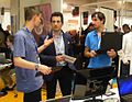 Solutions Libres et Open Source 2013 stand KDE (3).jpg