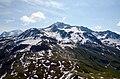 Sommet de Bellecote 3417 m, some 3.8 km East of Roche de Mio 2739 m - panoramio.jpg