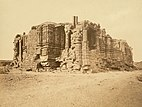 Somnath temple in ruins, 1869