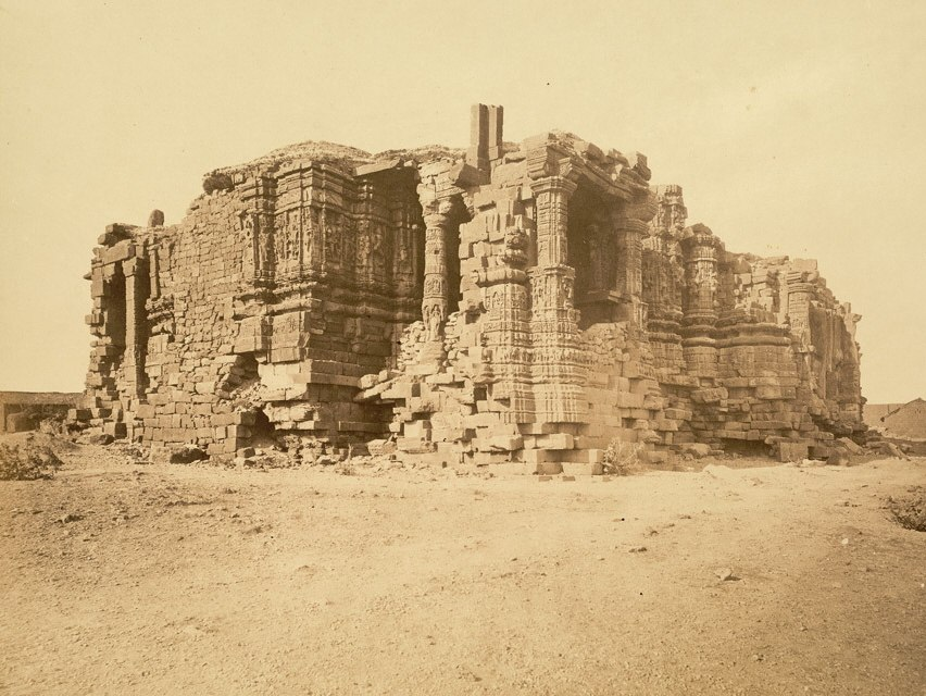 Somnath temple ruins (1869)