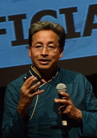 Sonam Wangchuk (engineer) - Image: Sonam Wangchuk, 2017 (cropped)
