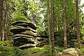 Sonnenstein - Felsformation am Erlebnisweg in Heinrichs bei Weitra.jpg