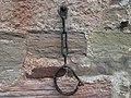 Sorn's Jougs detail, Sorn Church, East Ayrshire, Scotland.jpg