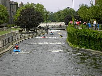 St. Joseph River (Lake Michigan) - East Race Waterway