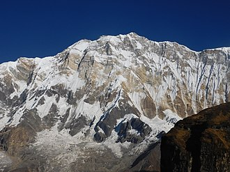 Annapurna Massif - South Face of Annapurna I (Main)