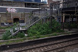 South Hampstead railway station MMB 06.jpg