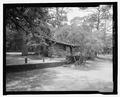 Southeast oblique - Bastrop State Park, Cabin No. 4, Bastrop, Bastrop County, TX HABS TX-3522-5.tif