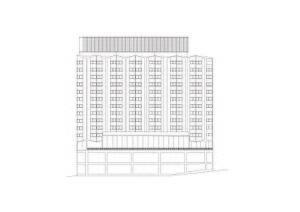 Southern Cross Hotel - Image: Southern Cross Hotel Elevation
