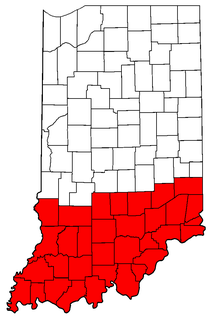 Southern Indiana Cultural region of Indiana, USA