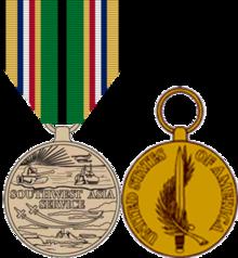Asian pacific service ribbon