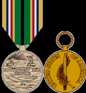 Southwest Asia Service Medal - Southwest Asia Service Medal