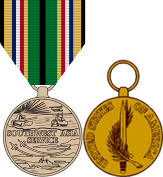 Southwest Asia Service Medal - Southwest Asia Service Medal