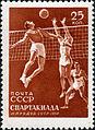 Soviet Union stamp 1956 Spartakiada.jpg