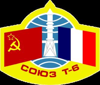 Jean-Loup Chrétien - Image: Soyuz T 6 mission patch