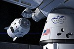 SpaceX Crew Dragon docking with the International Space Station.jpg