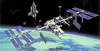 Space Station Freedom - Revised Baseline Configuration (1987)
