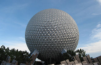 Educational entertainment - Spaceship Earth, an attraction at Epcot