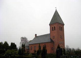 Støvring - Støvring church
