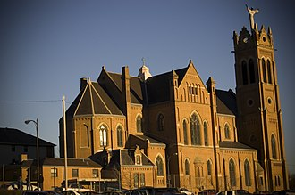 Frederick Charles Shrady - Image: St. Benedict the Moor Church (Pittsburgh)