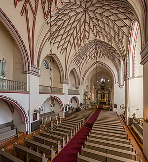 St. John's Church, Riga - Image: St. John's Church Interior 1, Riga, Latvia Diliff
