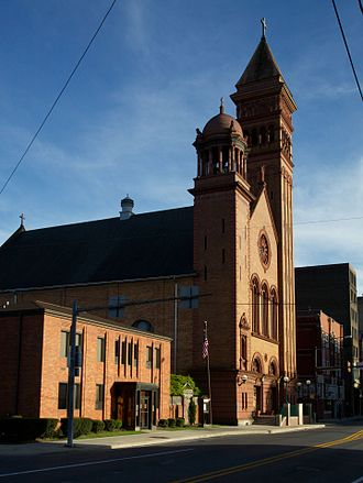 Downtown Johnstown Historic District - Image: St. John Gaulbert Cathedral