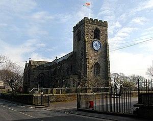 St Leonard's Church, Walton-le-Dale - Image: St. Leonard's Church geograph.org.uk 2088009