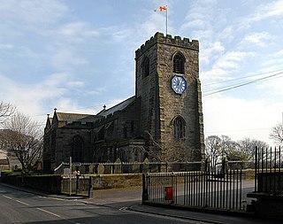 Walton-le-Dale village in the United Kingdom