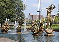 St. Louis, Missouri, USA - Carl Milles fountain The Meeting of the Waters 1936 - 1940 - panoramio (1).jpg