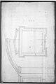 St. Peter's, apse, window, elevation (recto) Unidentified, portal, elevation (verso) MET sf49 92 89r-MM35212.jpg