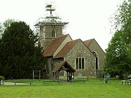 St. Peter's church, Roydon, Essex - geograph.org.uk - 172065.jpg