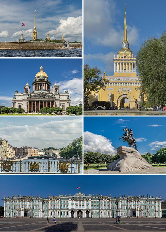St. Petersburg Montage 2016