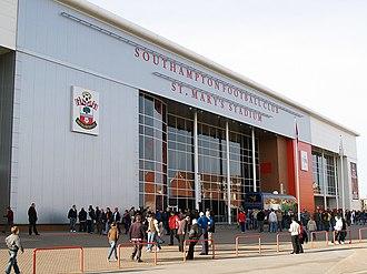 St Mary's Stadium - Front Facade
