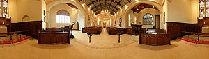 Charles Brett - Interior of St. Mary's Church of Ireland