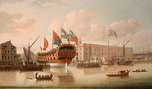 Deptford Dockyard - Image: St Albans Deptford