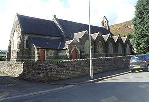 Ynyshir - St Anne's Church