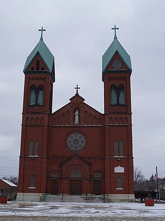 Roman Catholic Archdiocese of Detroit - Image: St Anthony Church
