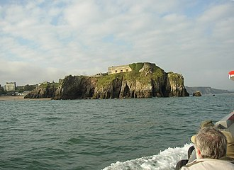 St Catherine's Island - Image: St Catherine's Island, Tenby geograph.org.uk 609617