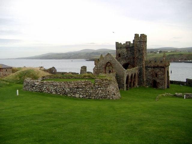 St Germans' Cathedral, Peel Castle, Isle of Man