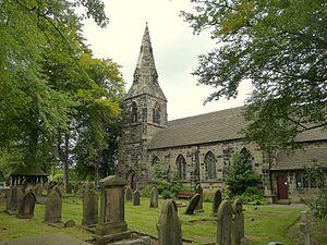 Westhead - St James Church, Westhead