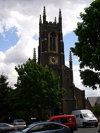Holloway Road - St John's Church, designed by Charles Barry, Jr.