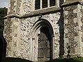 St Katharine's church Merstham, west door - geograph.org.uk - 1473586.jpg